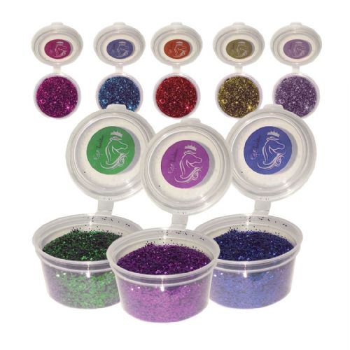 30g Ultra Fine Loose Glitter for Equifashion Stencils & Hoof Art Kit